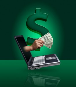 Send money online