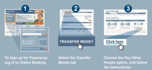 Popmoney transfer